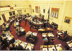 Senate Chamber, State Capital, Richmond, Virginia