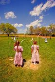 School Recess in the Shenandoah Valley of Virginia