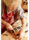 Making a Harpsichord Key at Colonial Williamsburg, Virginia