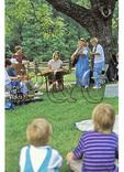 Blue Grass Band at Humpback Rocks Farmstead, Blue Ridge Parkway, Virginia