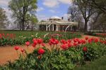 Historic Gardens at Monticello, Charlottesville, Virginia