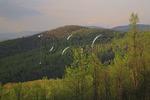 View near Brown Mountain, Shenandoah National Park, Virginia