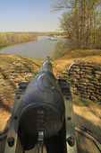 Drewry's Bluff, Fort Darling on The james River, Richmond National Battlefield Park, Virginia