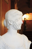 Bust in Parlor, Maymont House, Maymont Park, Richmond, Virginia