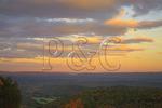 Sunset over Allegheny Mountains, Jordan Top, Warm Springs, Virginia