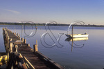 Fishing dock on Cherrystone River, Cherrystone, Virginia