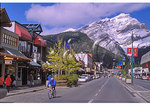 Downtown Banff, Banff National Park, Alberta, Canada