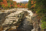 Visitors at Rocky Gorge, Kancamagus Highway, New Hampshire