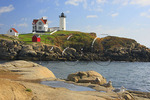 Cape Neddick Lighthouse, Nubble Light, York Beach, Maine