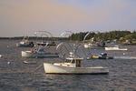 Dawn, Harbor, Port Clyde, Maine