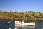 The Monhegan Ferry in Harbor, Monhegan, Monhegan Island, Maine