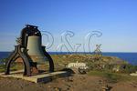 Bell at Lighthouse and The Island Inn, Monhegan, Monhegan Island, Maine