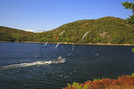 Lobsterman, Somes Sound, Sargent Drive, Acadia National Park, Maine