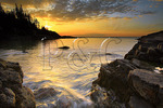 Sunrise, Little Hunters Beach, Acadia National Park, Maine