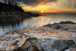 Sunrise, Little Hunters Beach, Acadia National Park, Maine