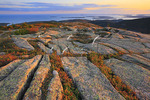 Sunset, Cadillac Mountain, Acadia National Park, Maine