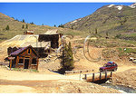 Animas Forks Ghost Town in the San Juan Mountains, Ouray, Colorado