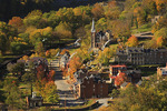 View from Maryland Rocks, Harpers Ferry, West Virginia