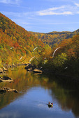 Rafters on the New River, New River Gorge National River, West Virginia
