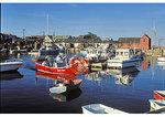 Fishermen in harbor, Rockport, Massachusetts