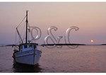 Harbor Sunset, Wellfleet, Cape Cod, Massachusetts