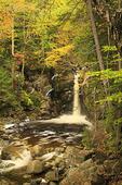 Kinsmans Falls, Cascade Brook, Beside Cascades-Basin Trail, Appalachain Trail, Lincoln, New Hampshire