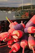 Lobster Pot Floats, Manset, Southwest Harbor, Mount Desert Island, Maine