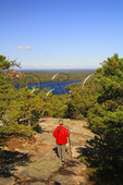 View of Saint Sauveur Trail, Acadia National Park, Maine
