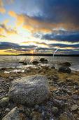 Sunset, Pretty Marsh, Acadia National Park, Maine