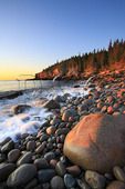 Sunrise, Otter Cliff, Acadia National Park, Maine