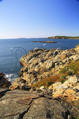 Memorial on Great Head, Great Head Trail, Acadia National Park, Maine