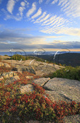 Sunset, Cadillac Mountain, Acadia National Park, Maine