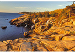 Otter Cliff at Sunrise, Acadia National Park, Maine