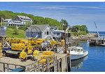 Lobster Fishermen at the dock, New Harbor, Maine