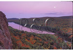 Moon over Lake of the Clouds, Porcupine Wilderness State Park, Michigan