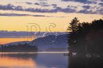 Passing Storm at Sunset, Blue Mountain Lake, Adirondacks, New York