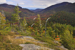 View From Baxter Mountain Trail, Keene, Adirondacks, New York