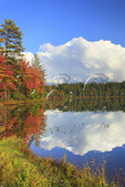 Quiver Pond, Mountain Lodge, Adirondacks, New York