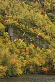 Trees and Mountainside at Cascade Lake, North Elba, Adirondacks, New York