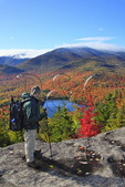 View of Heart Lake From Mount Jo, North Elba, Adirondacks, New York