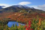 View of Heart Lake From Mount Jo, North Elba, Adirondacks, New York