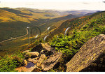View from Cannon Mountain, Franconia Notch, White Mountains, New Hampshire