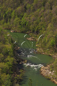 View from East Rim Overlook, Big South Fork National River and Recreation Area, Oneida, Tennessee