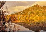 Sunset at Echo Lake, Franconia Notch, White Mountains, New Hampshire