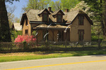 Restored Victorian house, historic Rugby Village, Rugby, Tennessee