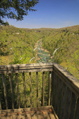 View from Honey Creek Overlook, Big South Fork National River and Recreation Area, Oneida, Tennessee
