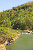 O & W Rapids, Cumberland River, Big South Fork National River and Recreation Area, Oneida, Tennessee