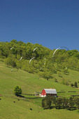 Farm in Germany Valley at the base of Spruce Mountain, Judy Gap, West Virginia