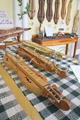 Dulcimers at Warren May's Woodworker Shop, Berea, Kentucky
