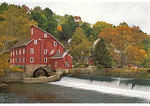 Old Red Mill on Spruce Run, Clinton, New Jersey